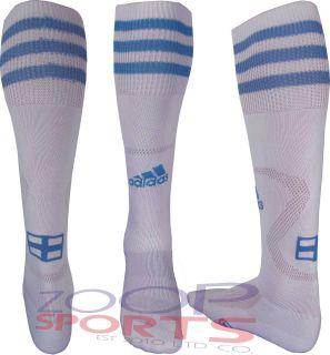 Adisock Football Team SOCKS Striped Whit Sports Knee Length Socks