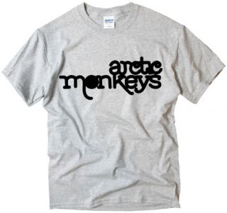 Arctic Monkeys Logo EMO ROCK MUSIC BAND t shirt