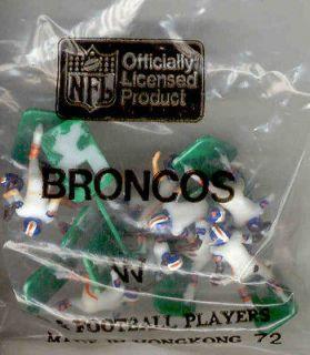 Tudor Electric Football Denver Broncos W HK 1980s