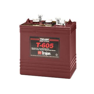 Trojan T 605 6V 210Ah Lead Acid GC2 Deep Cycle Battery New