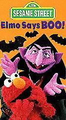 Sesame Street Elmo Says Boo VHS (6)
