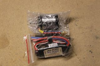 Rex 450 3GX Brushless Motor & ESC Electronic Speed Control Combo