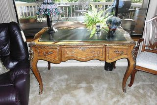 Newly listed Antique Walnut French Louis XVI Style Writing Desk