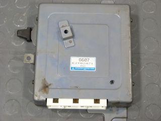 1989 89 Mazda B2600i G6 Engine Computer ECU ECM PCM G607 E2T02471 9322