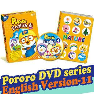 Little Penguin, PORORO DVD Series English Version 11 (DVD + Play Book