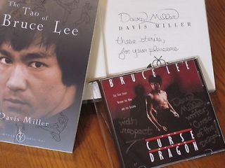 JOURNEY (DVD) & SIGNED book TAO OF BRUCE LEE + CURSE OF DRAGON (DVD