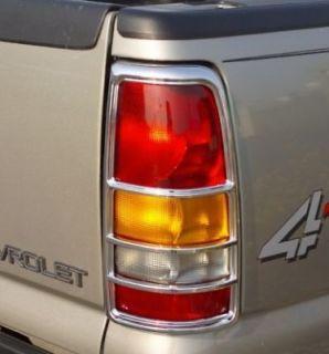 99 06 Sierra Chrome Tail Light covers (Fits Chevrolet Silverado 2500