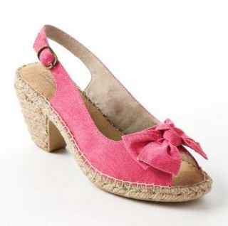sole (sense)ability Peep Toe Espadrilles Womens Sandals NIB $60