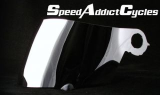 Suomy Spec 1R / Extreme / Apex Chrome Iridium Shield Visor