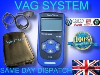 VAG ENGINE AIRBAG ABS SCANNER TOOL VW SEAT SKODA AUDI COVERS ALL