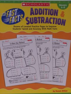 Fast Math Facts Addition & Subtraction Grades 1   2