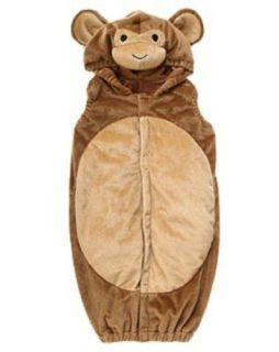 new NWT GYMBOREE infant HALLOWEEN 1 pc Baby Monkey Costume sz 6 12 mos
