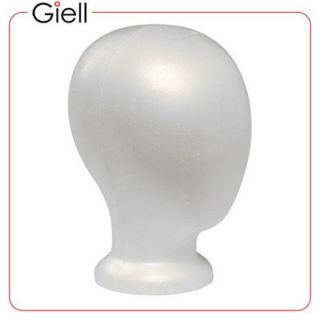 Giell Styrofoam Foam Mannequin Wig Head Display No Face