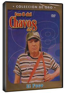 Los 8 Del Chavo Del 8 DVD NEW   EL FOCO   Coleccion De Oro