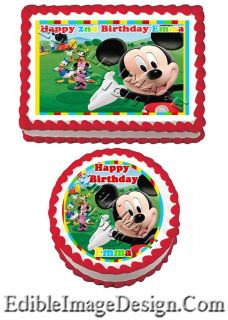 Clubhouse Edible Cake Image Decoration Topper Birthday Party favor