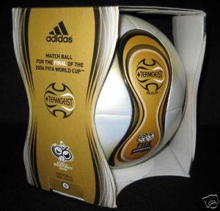 Adidas Teamgeist Berlin WM 2006 Official Soccer Match Ball