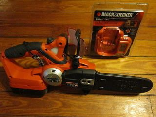Newly listed BLACK & DECKER CCS818 CORDLESS ELECTRIC CHAIN SAW