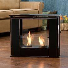 Wesley Indoor/ Outdoor Portable Fireplace NEW
