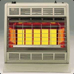 Empire SR 30T Vent Free Radiant Gas Heater 30,000 BTU