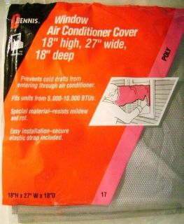 Air Conditioner Cover Fits 5,000 To 10,000 Btu