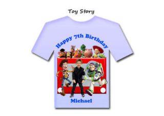 TOY STORY BIRTHDAY PARTY SHIRT DESIGNS INVITATIONS