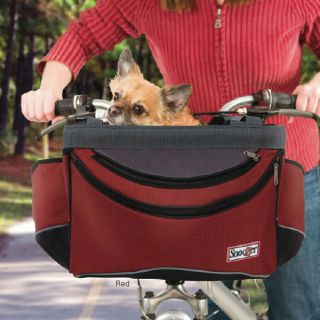 Pet Dog Cat Bike Carrier Sporty Safety Bicycle Travel Seat Basket NEW