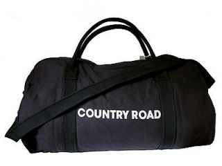 Country Road Tote Bag, Tote Bag. Mens Bag, Womens Bag. Black