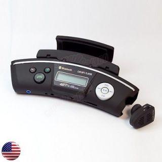 FM Transmitter Mobile Phone Bluetooth Steering Wheel Car Kit w SD