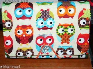 COUPON Holder / Organizer / keeper / File   big eyed Owls Natural