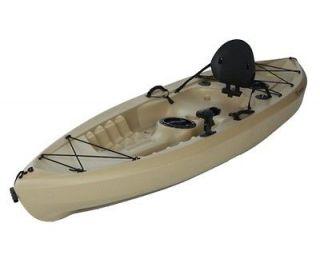 10 foot plastic tamarack 120 sport fishing kayak canoe for Tamarack fishing kayak