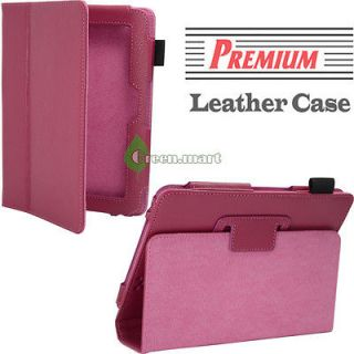 Newly listed Pink Folio PU Leather Case Cover Stand For. Kindle