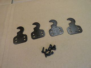 Singer Sewing Machine Treadle Cabinet Drawers Support Hinges w Screws