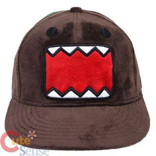 Domo Kun Plush All Over Flat Bill Cap Hat   Licensed US L/XL