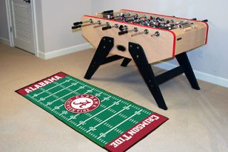 Alabama Crimson Tide Football Field Runner Area Rug Floor Mat 30 X