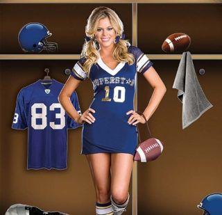 XL SEXY Sports Football Stretch Jersey Dress Halloween Costume 6470