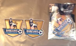 Manchester Man City Premier League Champions Football Shirt Patches 11