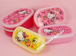 Hello Kitty Bento Lunch Box Container Set Sanrio M23
