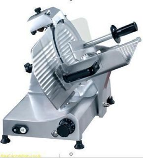 MEAT SLICERS TWELVE INCH 300MM NEW COMMERCIAL SLICING MACHINE POLISHED