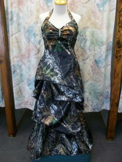 camo prom dress in Wedding & Formal Occasion