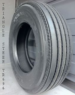 TRIANGLE TR696   11R24.5 [16 Ply Premium Steer, Semi Truck Tires]