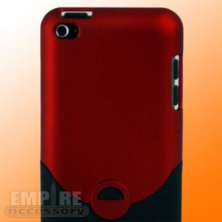 RED HARD CASE FOR APPLE IPOD TOUCH ITOUCH 4G 4TH Gen Generation