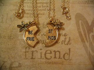 Best Friend Charm Necklaces Mother Daughter Sisters sm