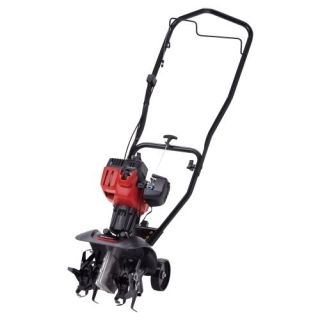Machines 10 Inch 2 Cycle Gas Powered Yard & Garden Tiller Cultivator