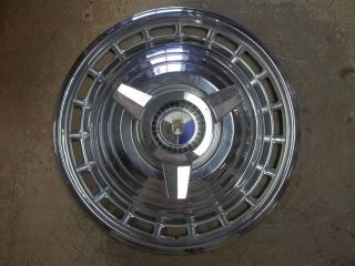 1963 63 Ford Galaxie Hubcap Rim Lug Wheel Cover Hub Cap 14 OEM USED O