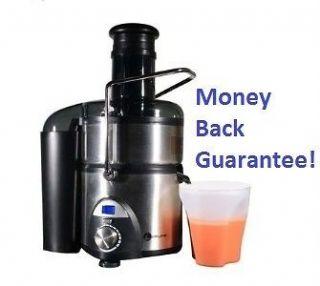 Power Juicer Best Top Juice Extractor Machine Fruit Blender Steel