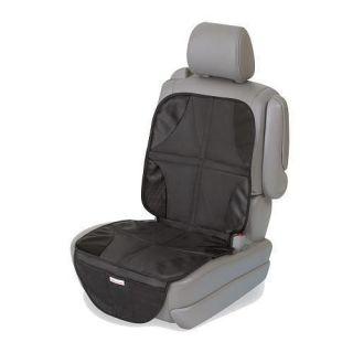 Summer Infant DuoMat Duo Mat 2 in 1 Car Seat Protector Pad, Black
