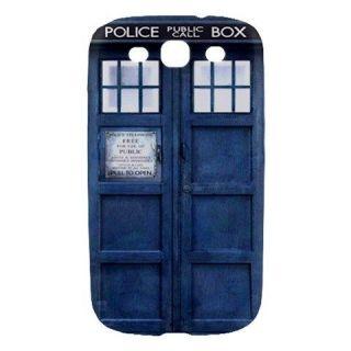 Tardis Police Public Call Box Samsung Galaxy S3 SIII Hard Case Cover
