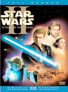 STAR WARS EPISODE II 2 ATTACK OF THE CLONES 2 Disc DVD Set Full