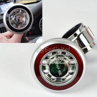Steering Wheel Suicide Knob Ball Power Handle Grip Spinner S0BZ