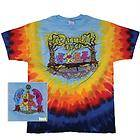 Grateful Dead Row Bears Yellow Youth Tie Dye Tee